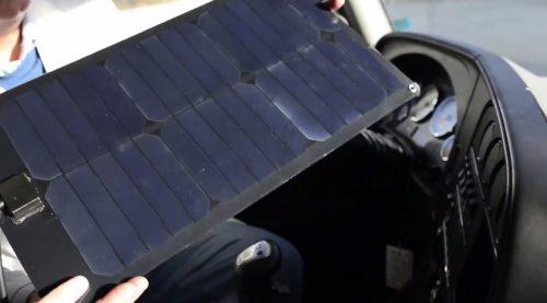 Purkeys' Solar Dash chargers