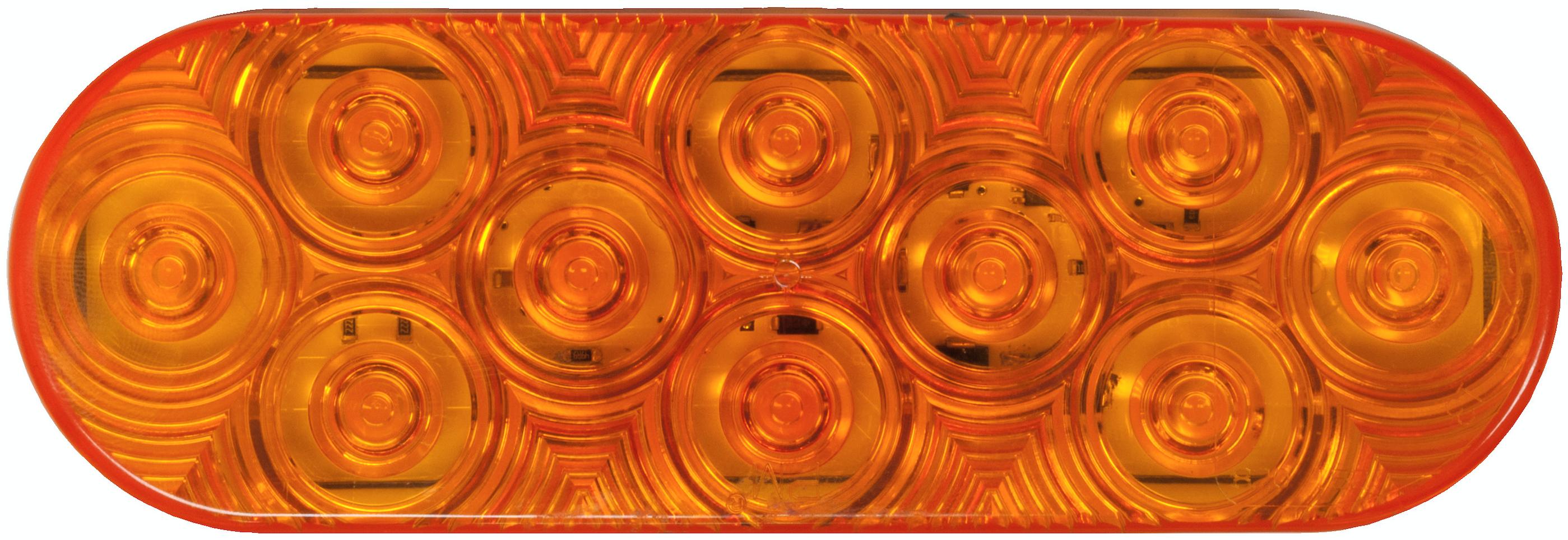 Peterson supplied amber pulsating brake light