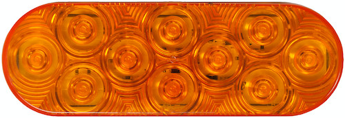 Peterson supplied amber pulsating brake light