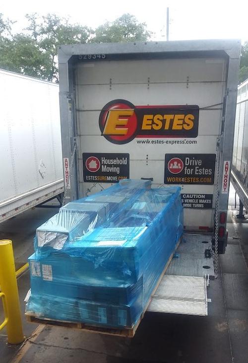 larger liftgates on estes trailers
