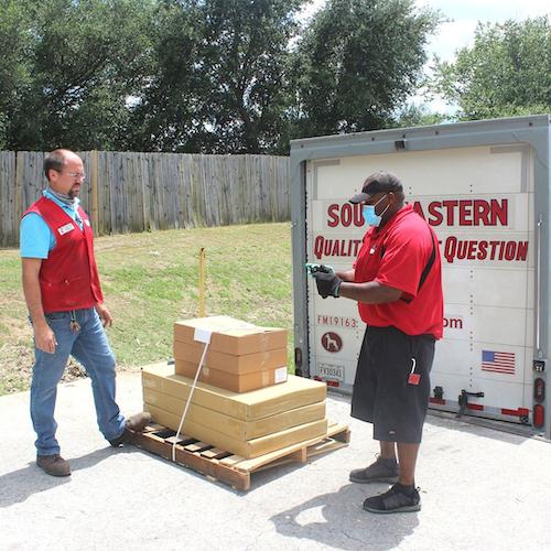 SEFL delivering direct to customer
