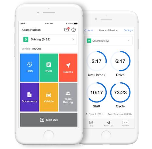 Samsara Driver App