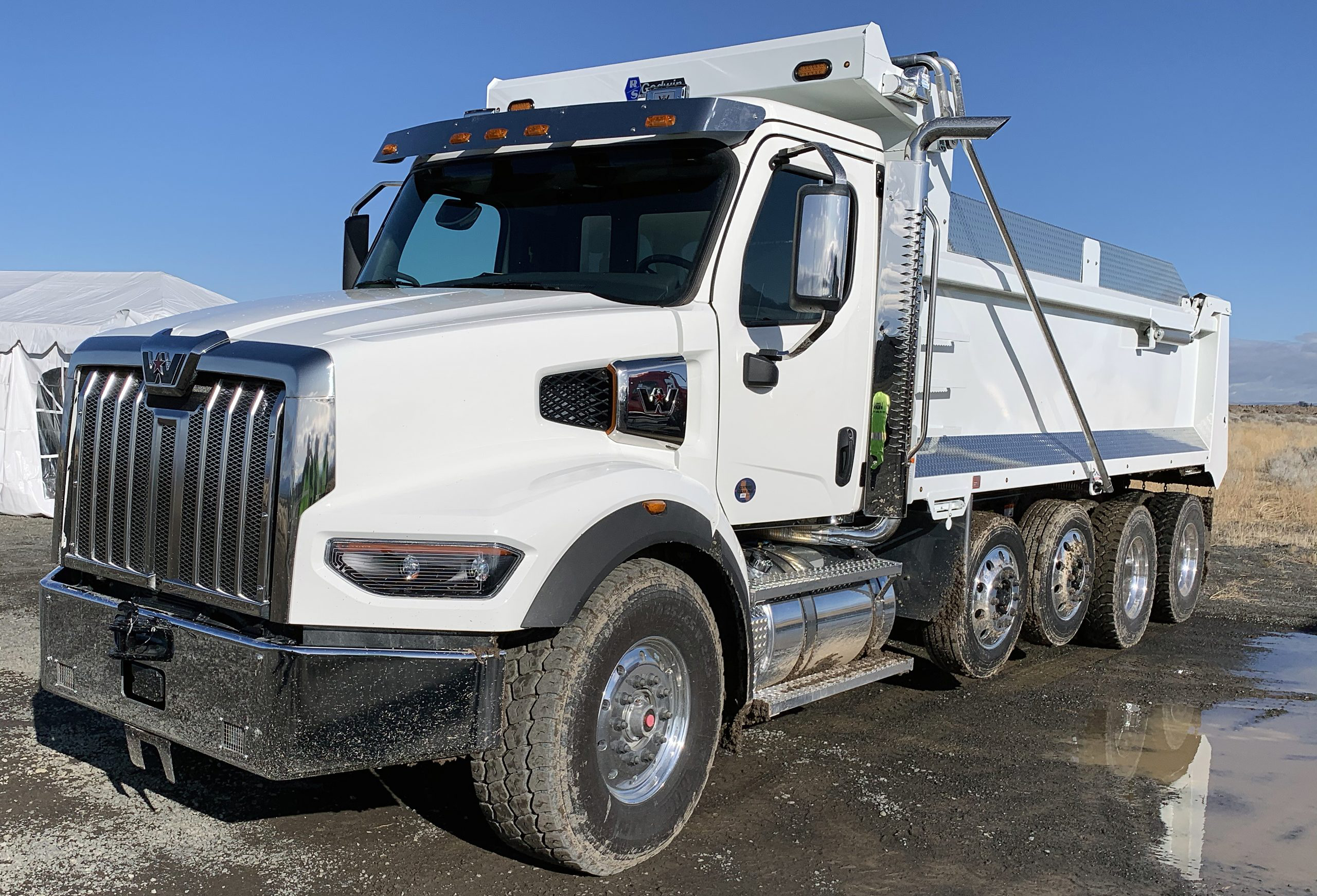 all new western star 49x vocational dump truck