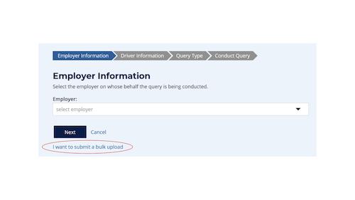 Employer Information box