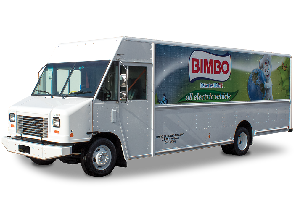 Bimbo's Ford all electric vehicle
