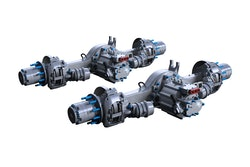 Meritor has reached supplier agreements with Lion Electric, a Canadian manufacturer of medium and heavy-duty zero-emission vehicles, Autocar, an American specialty truck manufacturer, and Volta Trucks, a London-based electric commercial vehicle startup. Each company will use the Blue Horizon 14Xe integrated ePowertrain in its production trucks.