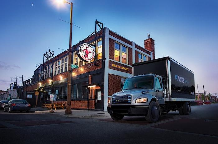 eM2 medium-duty electric truck