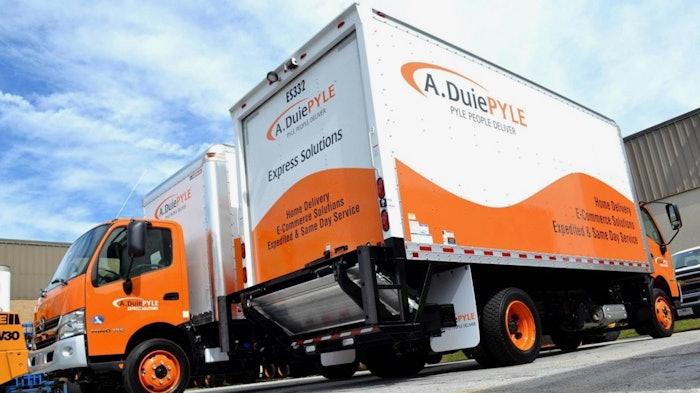 A Duie PYLE truck