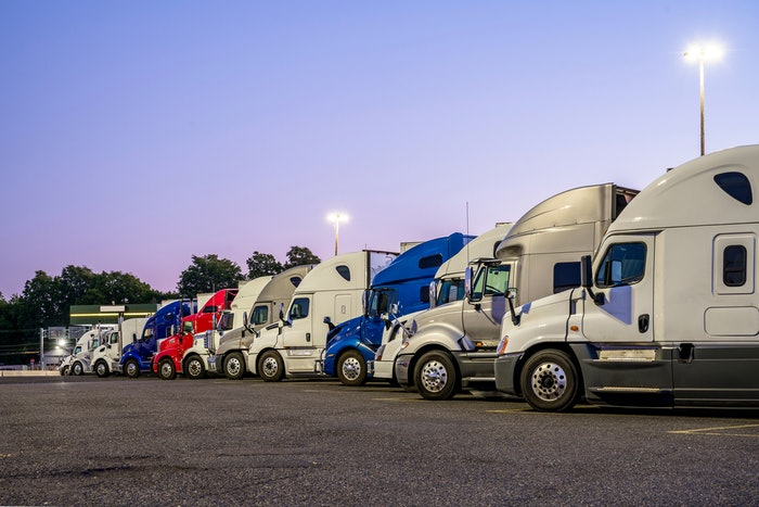 Studies show that 98% of drivers report problems finding safe truck parking, and the average driver spends 56 minutes of available drive time every day looking for parking.
