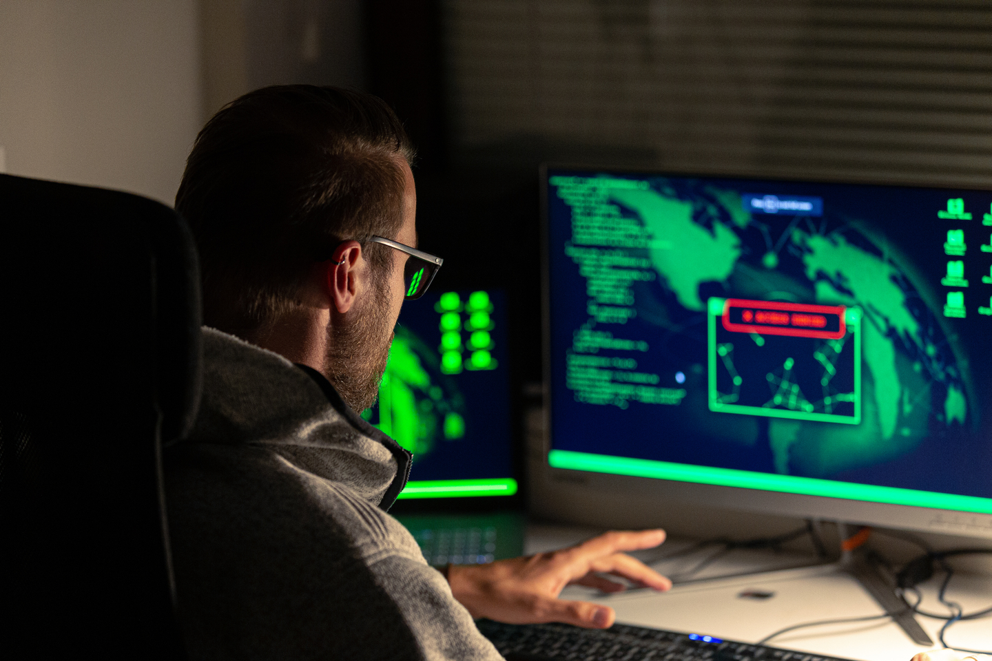 Small and medium-sized fleets have a more difficult time affording the advanced systems they need to monitor network traffic and detect possible intrusions.