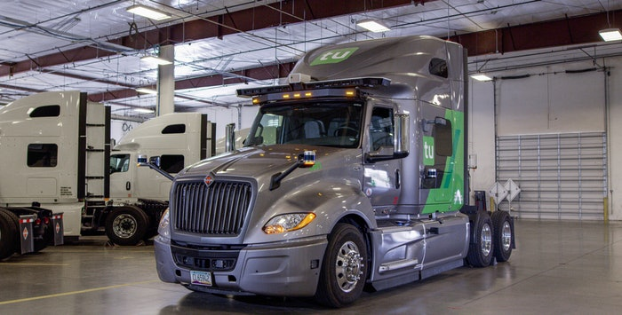 TuSimple fleet truck