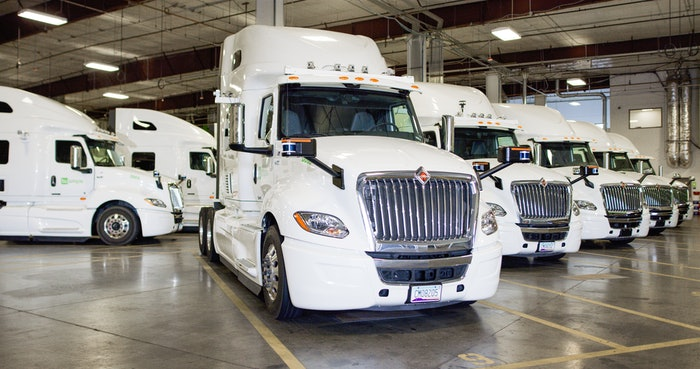 Navistar International Corp. last July announced it has taken a minority stake in autonomous truck retrofitter TuSimple, part of an investment by Navistar into TuSimple's self-driving technology and after two years of an ongoing technical relationship between the two companies.