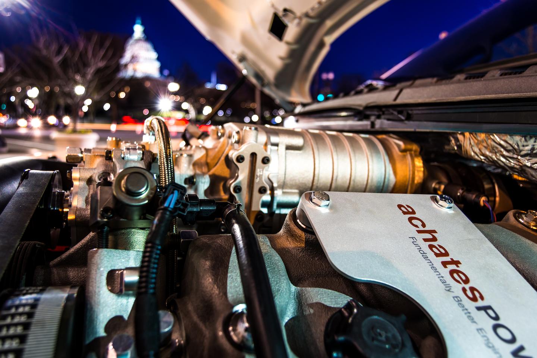 f-150 with achates piston