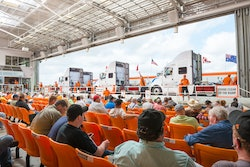 Used trucks at auction