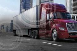 red International Truck