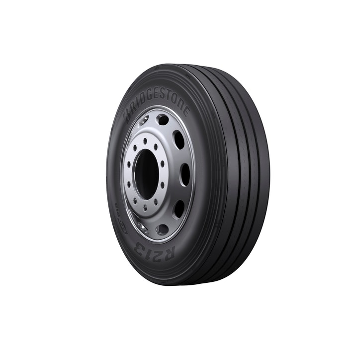 The Bridgestone R213 Ecopia tire.