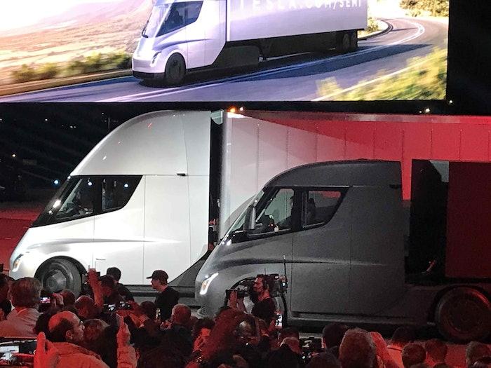 Tesla electric Semi