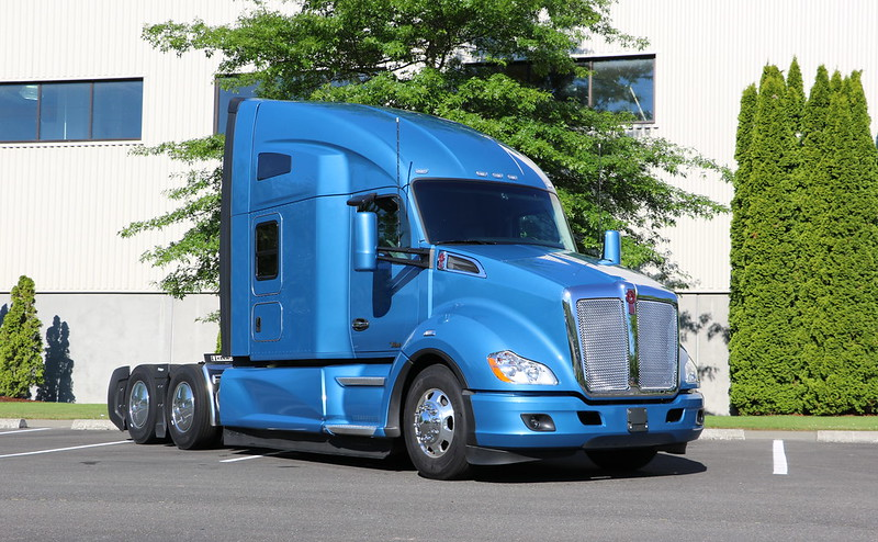 Kenworth donated a fully loaded Kenworth T680 for the winner of the 2021 Transition Trucking: Driving for Excellence award winner.