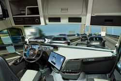 driverless truck cab