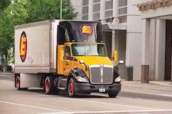 Estes Express semi-truck