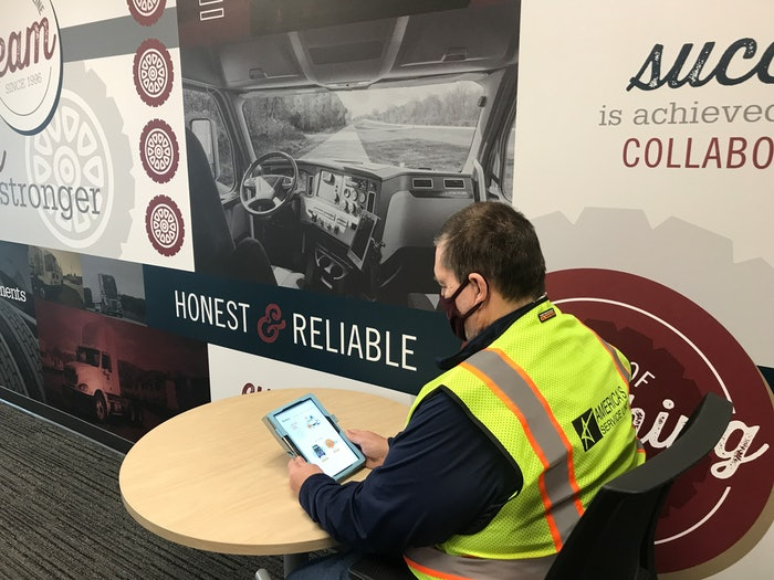America's Service Line documented the benefits of having drivers complete monthly training assignments using a 'community of learner' approach.