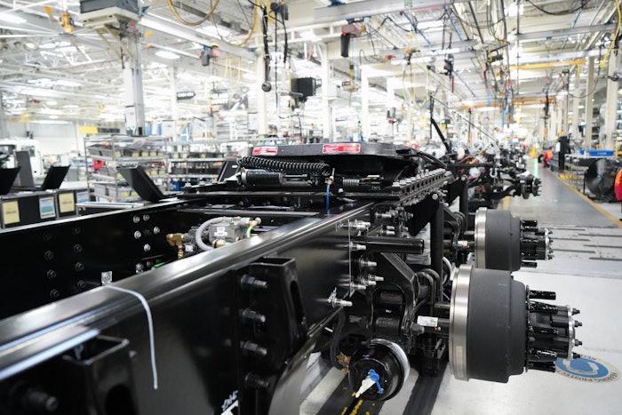 mack truck assembly line