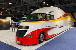 Shell Starship 2.0 on display this week at the Advanced Clean Transportation Expo in Long Beach, Calif.