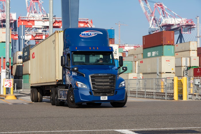 A surge of in-bound freight at the ports has brought plenty of business and challenges.