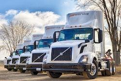 Transervice trucks