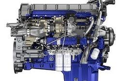 Volvo turbo compounding engine