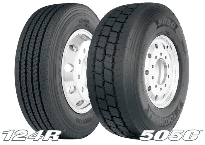 Yokohama Tire 124 R & 505 C